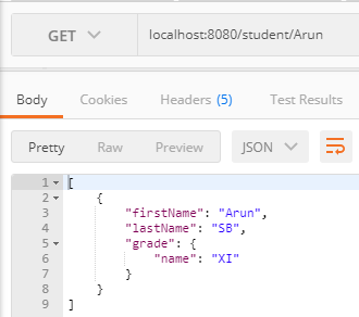 jsonpath example spring