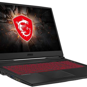 MSI gaming laptop, Intel Core i7, 16GB RAM, 512 GB SSD