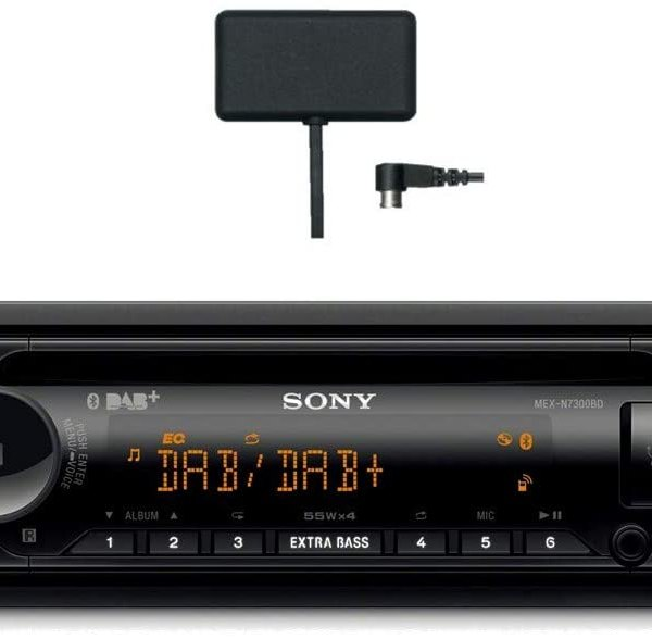 Sony MEX-N7300KIT autórádió CD-vel, DAB tunerrel
