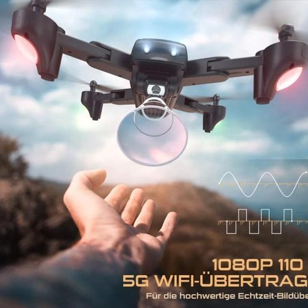 SNAPTAIN SP500 összecsukható GPS FPV drón