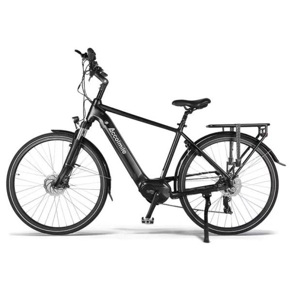 Accolmile férfi elektromos trekking kerékpár-fekete