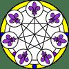 7 Lilien Diskus