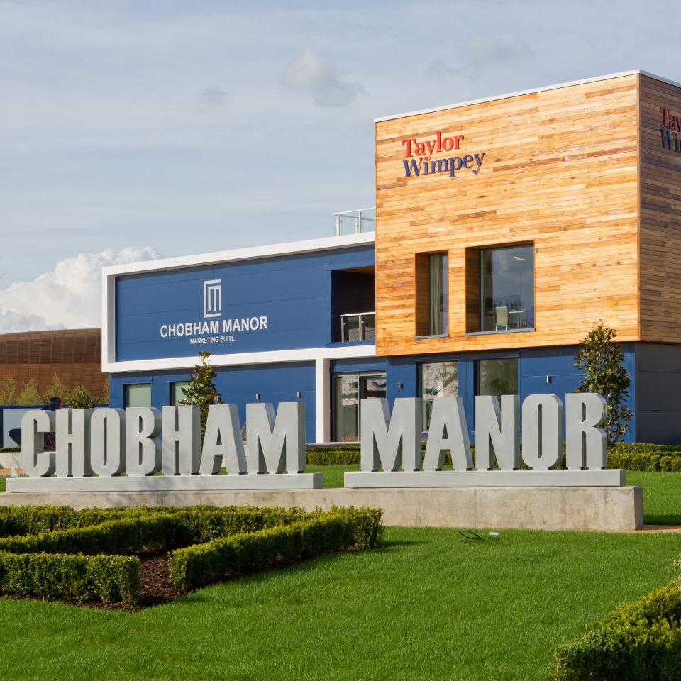 Chobham Manor Marketing Suite