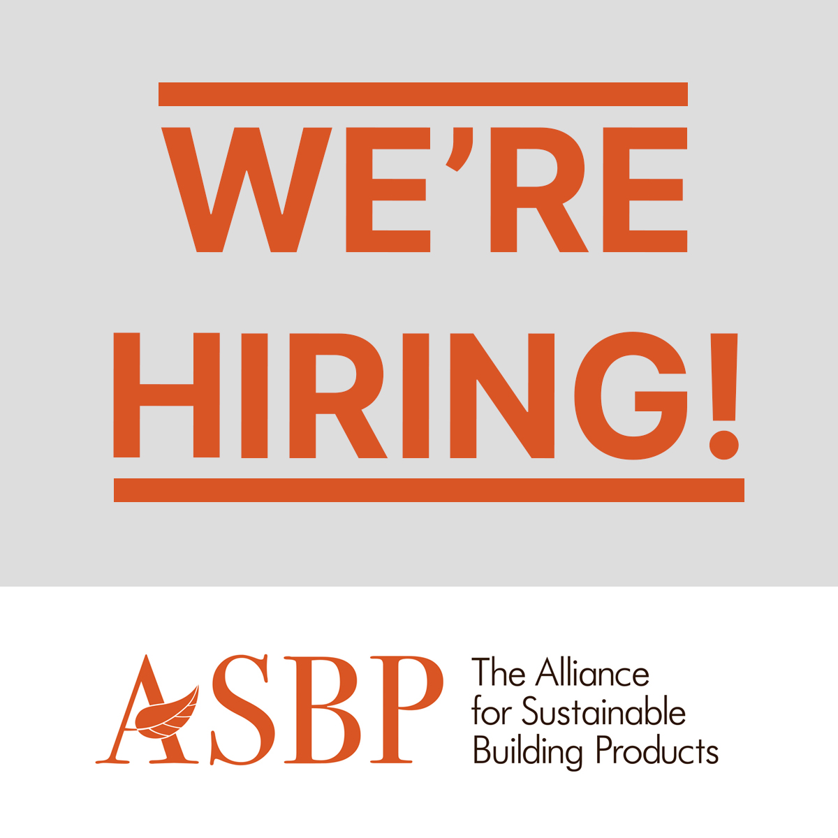 We're hiring! Campaigns Director for the Timber Accelerator Hub