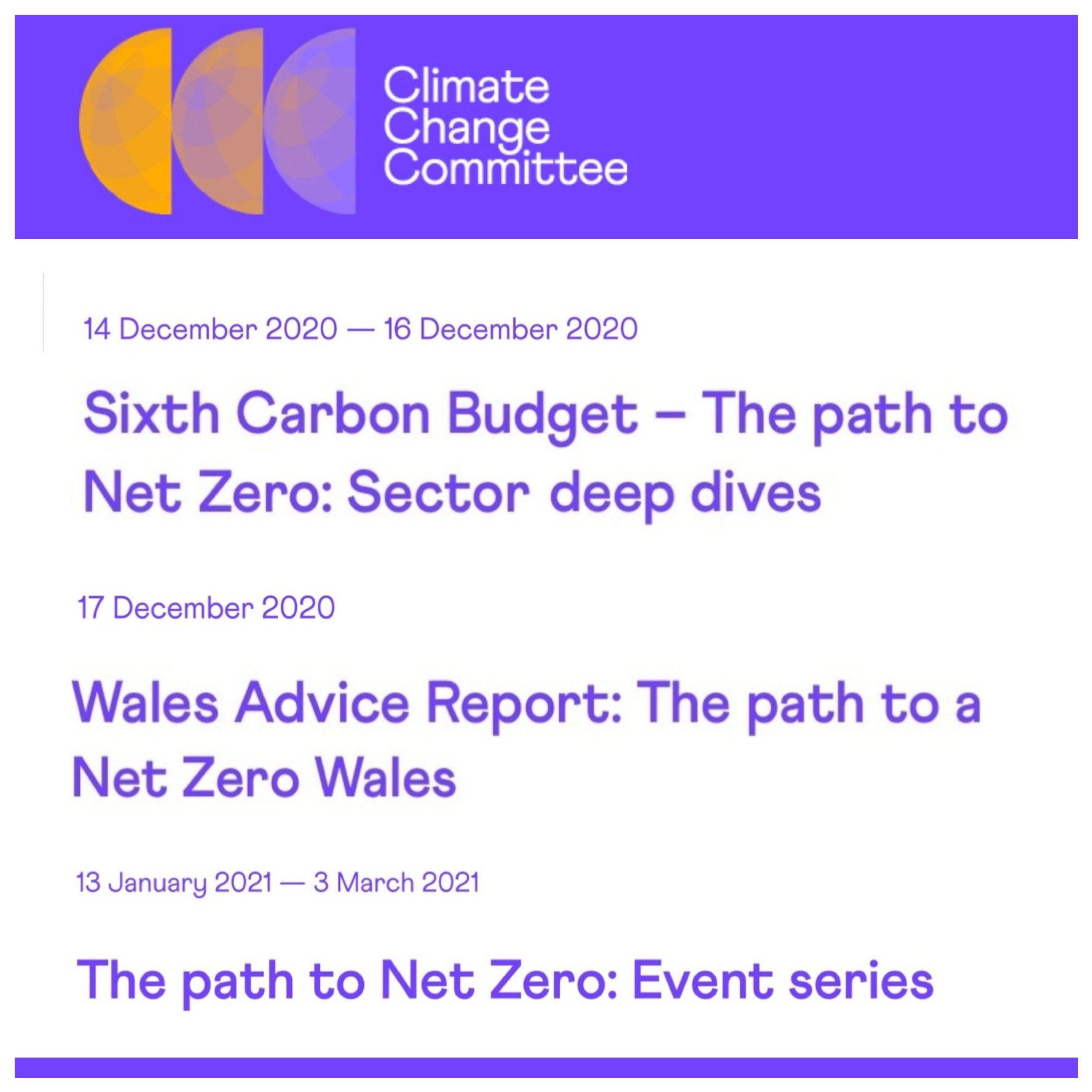 CCC Sixth Carbon Budget – The path to Net Zero