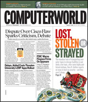 Image: Computerworld front page
