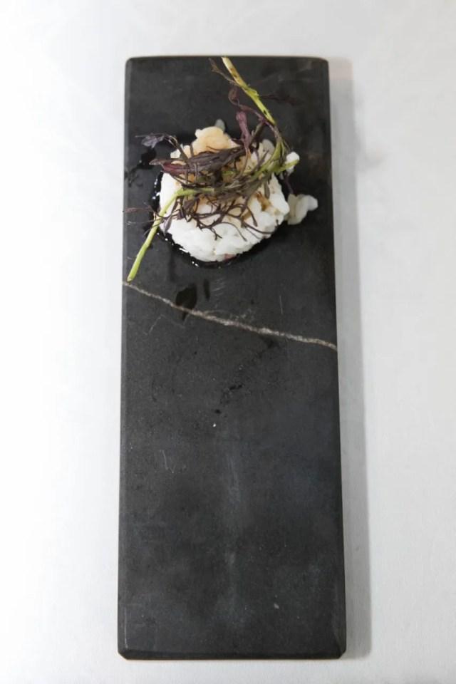 Pulpo con reducción de soja-mirin – Pepe Solla