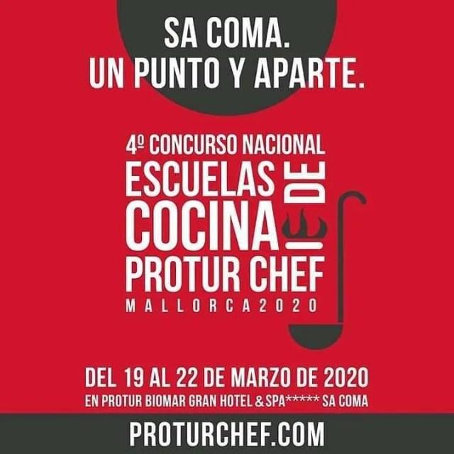 Cartel de Protur Chef 2020