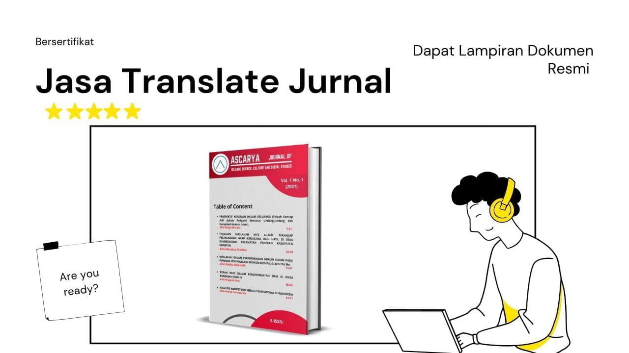 Jasa Translate Jurnal