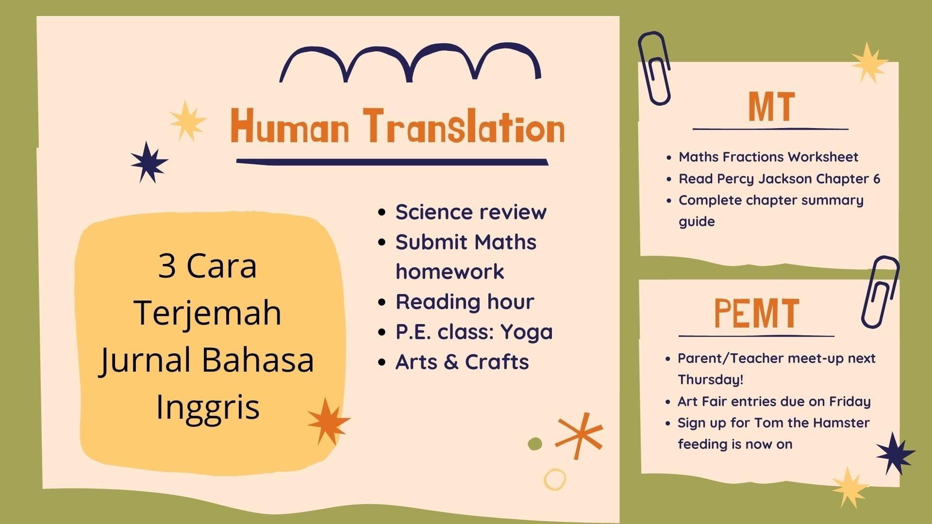 cara terjemah jurnal bahasa inggris