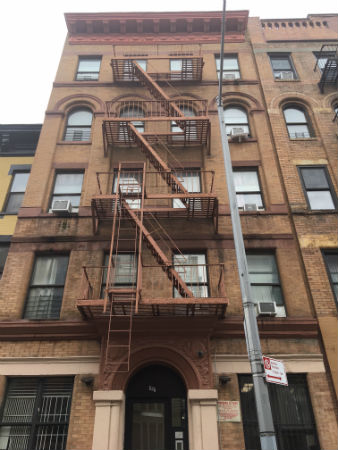 Photograph of 453 East 117th Street building.