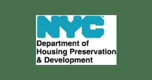 New York City Housing Preservation & Development logo.