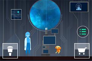 OPUS game scene