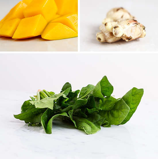 Mango Ginger Spinach