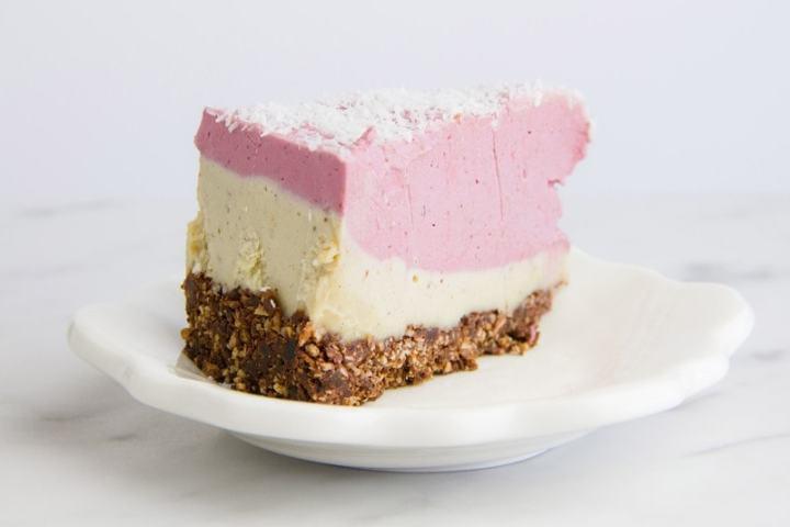 Raw Raspberry White Chocolate Cake