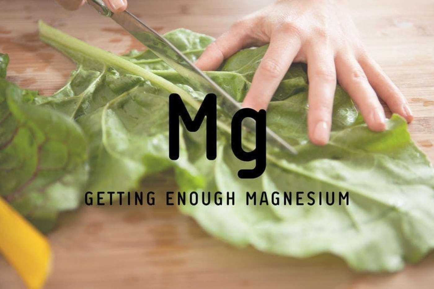 Are you getting enough magnesium? + Top sources of magnesium