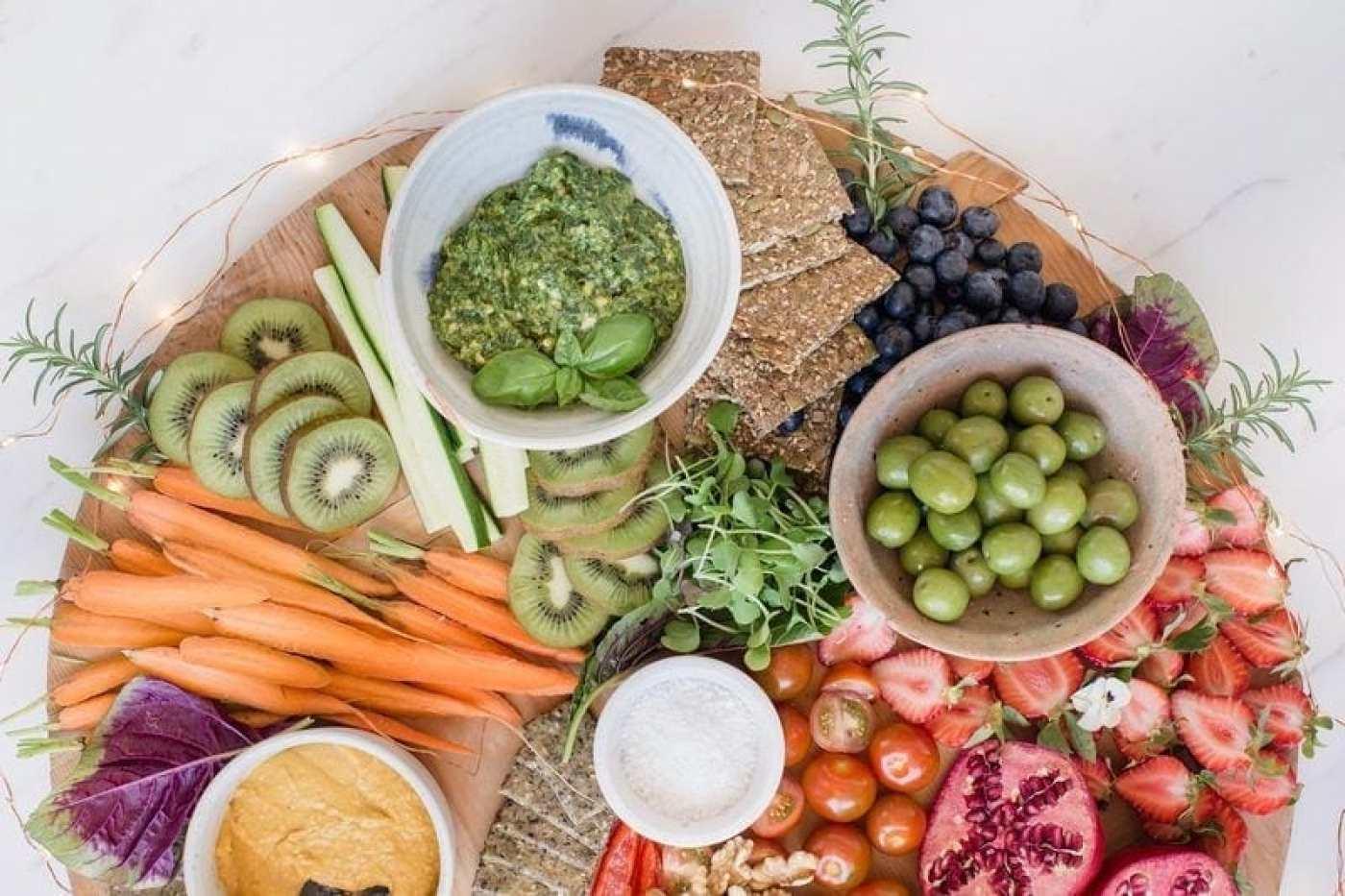 How to make a vegan platter