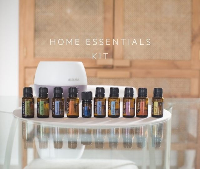 Buy Doterra The Home Essentials Kit On Display