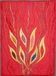 Pentecost Banner by Gerrie Congdon, Portland, OR
