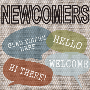 Welcome-Newcomers