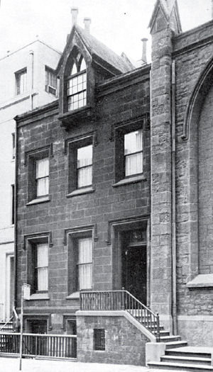 Ascension Rectory, circa 1955