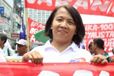 Rep. France Castro of ACT Teacher's Party list joins the call for higher wages.