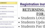 Unilorin Registration Procedure