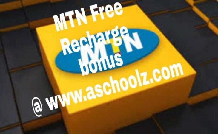 MTN Free Recharge bonus