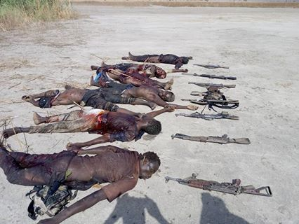 TROOPS NEUTRALIZE 7 TERRORISTS AND RECOVER 7 RIFLES