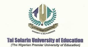Tasued post utme form Tai Solarin University of Education Utme form