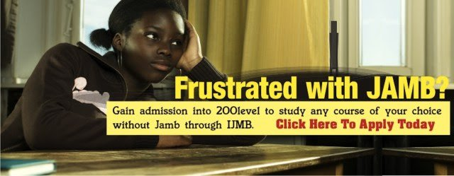 Start from 200 Level at Any University of Your Choice No JAMB Required