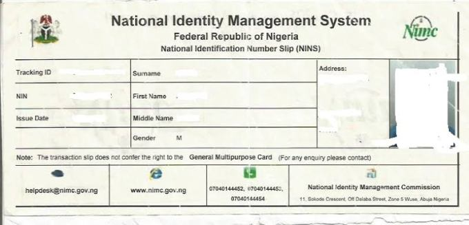 How to Apply For National Identity Card