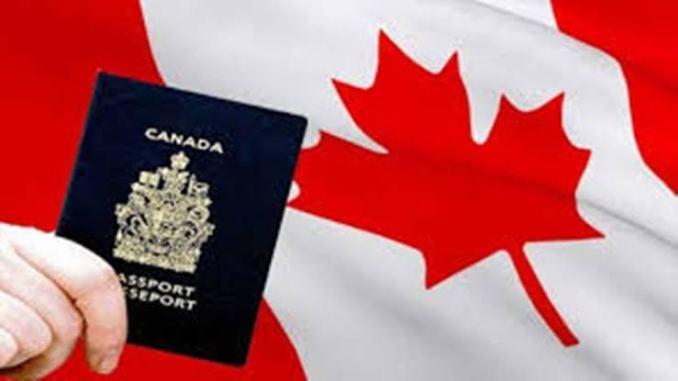 Canada Visa Lottery Form
