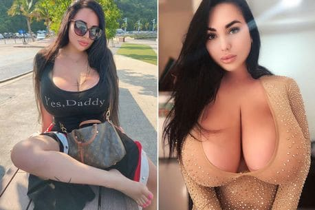Woman with natural 34KK boobs shares disturbing messages she gets from strangers online (photos) 1