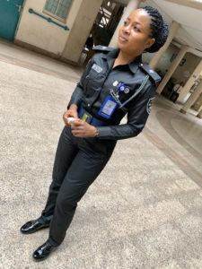 Nigeria Police lady