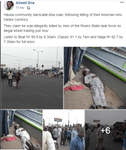 Task force officials allegedly beat man to death in Rivers State (graphic photo) 1
