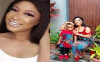 'My son told me he didn't like the outfit i wore to his school' -Tonto Dikeh reveals 14