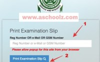 How to Re-print Jamb Slip