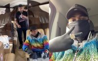 Davido Sadly Returns To Nigeria In His Father's New Private Jet After Suspending US Tour (VIDEO) 3