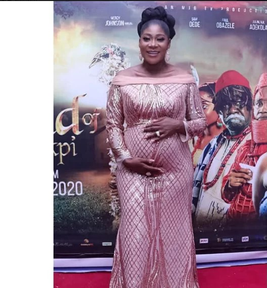 4 times Mercy Johnson melted our hearts with her baby bump photo 3