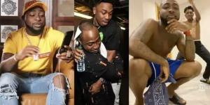 (Watch video) See what lock-down is making Davido and Mayorkun do at home 1