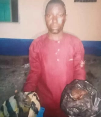 Man arrested for stealing the placenta of his neighbor's child 1