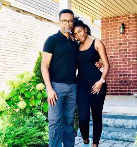 It's Omoni Oboli's Birthday & No One's as Excited as Husband Nnamdi