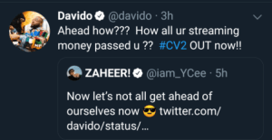 Rapper Ycee & Davido Fight Dirty On Social Media 3