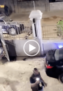 VIDEO: Four armed robbers shot dead by police while robbing in Lekki 3