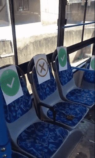 Check out the new sitting arrangement of BRT buses in Lagos (Photos/Video)