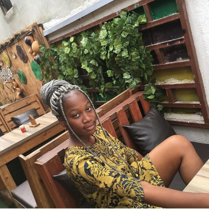 Victor Osuagwu's grown daughter goes viral after she shares a tweet identifying the veteran actor as her father (photos) 1