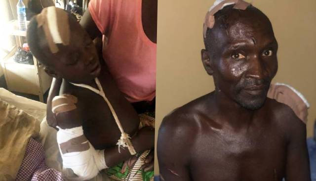 Little boy fights Fulani herdsmen who came to attack his father (photos)