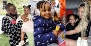 Davido celebrates his 2nd lookalike daughter, Hailey as she turns 3 (video)