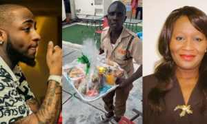 Kemi Olunloyo blasts Davido for allegedly feeding his gateman with leftover food